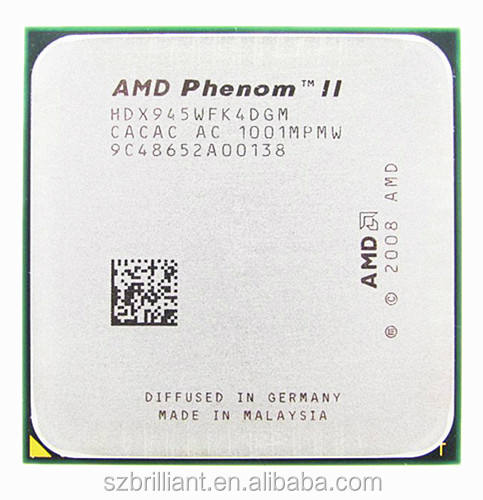 AMD Phenom II X4 945 Processor Quad-Core 3.0GHz 6MB L3 Cache Socket AM2+/AM3 scattered pieces cpu