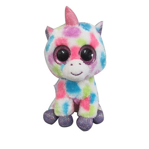 2018 hot sale plush unicorn with big eye