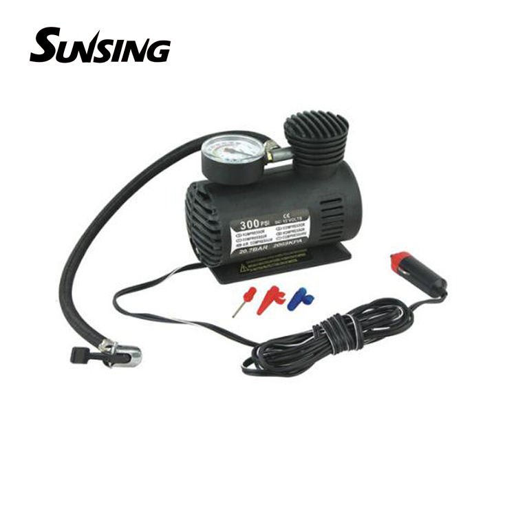 12v nitrogen portable car tire inflator pump foam