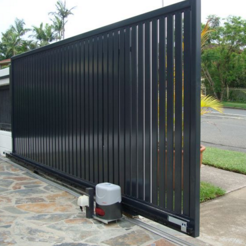 Home use light weight aluminum automatic outdoor sliding gate