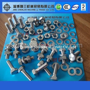 SS 316 fasteners nuts bolts and washers
