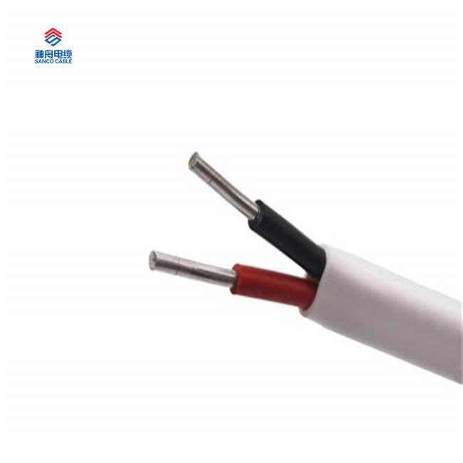 Производитель Китай 300 В 450 В 750 В 2 Core 2.5 кв. мм Электрический кабель размеры