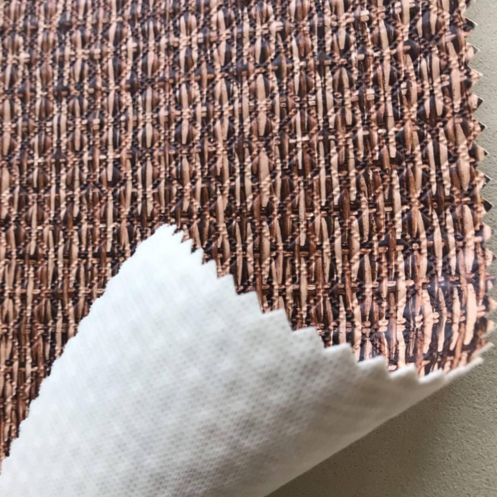 Südosten Aisa Stil PVC Man Made Sofa Leder Stoff Rutschfeste Rollenmaterial.