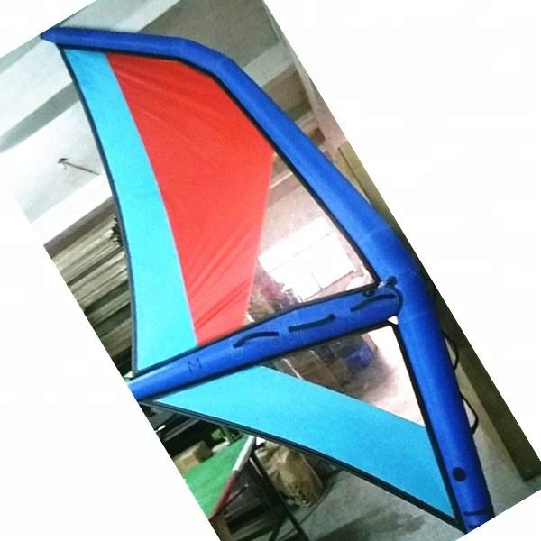 Inflatable sail windsurfing kids youths adults board surf sails