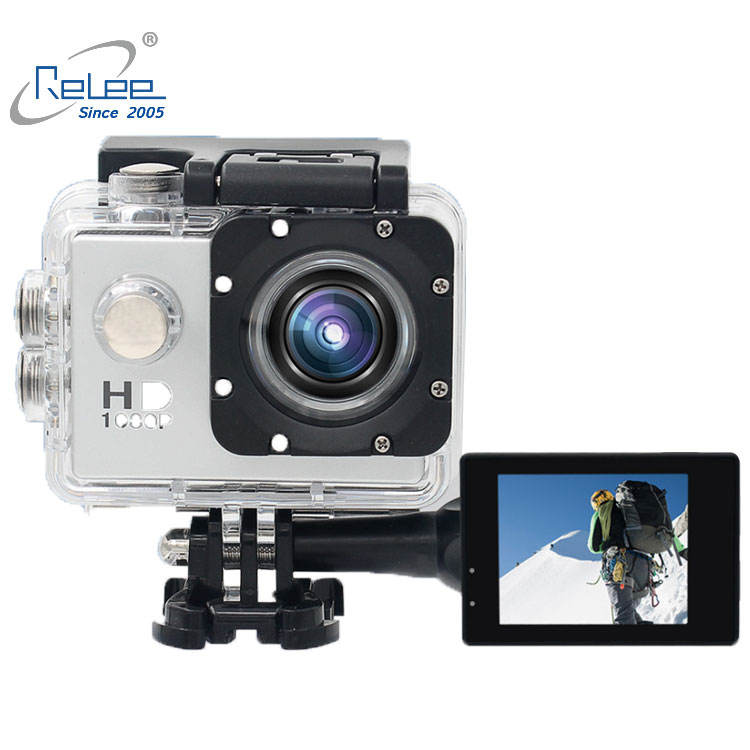 2108 New Year Best price sport camera promotion gift 1080p waterproof camera 4k action camera