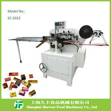 Hot Sale chocolate bar horizontal flow pack packaging machinery for energy complement Trade Assurance