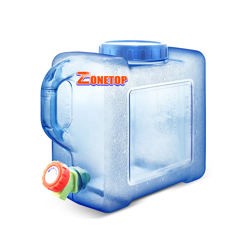 Snelle <span class=keywords><strong>Verzending</strong></span> 5 7.5 8 12 15 18 22 25 L Camping Opslag Water 5 Gallon Emmer Vierkante