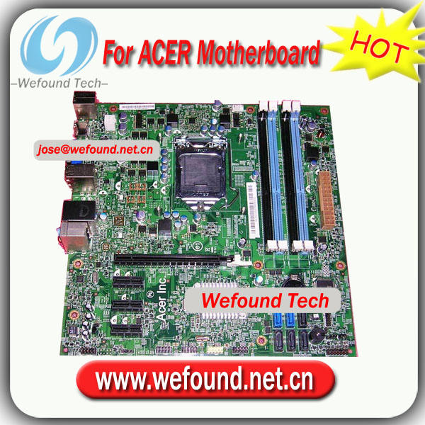 100% Working for ACER desktop motherboard Gateway ZX6951 MB desktop motherboard for 48.3EG01.011 MIH67/P67L MB 10068-1 LGA 1155