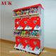 Two layer capsule toy gashapon bouncy ball vending machine