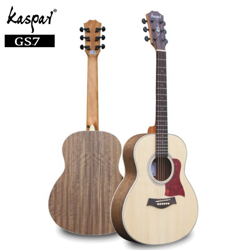 Kaspar Guitar Factory OEM Custom Stika Spruce Cheapest Acoustic Guitars 37 inch All Solid Classical Guitar
