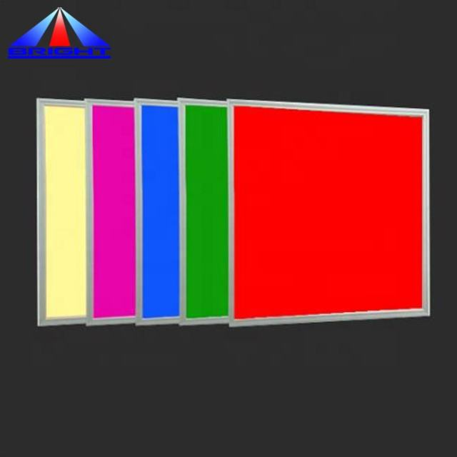 NEW rgb led panel dmx 36 W 60X60 panel cahaya dimmable 24 V rgbw led panel