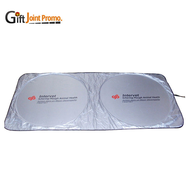 Folding Front Windshield Car Sunshade with Custom Logo