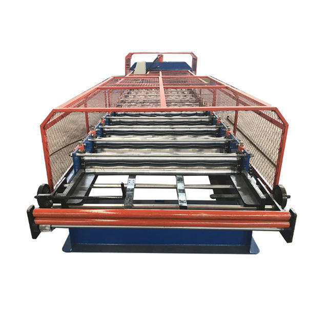 Roll Forming Machine Roofing Sheet Making Machine Floor Tile Making Machine Steel Sheet Metal Roofing Rolls Forming Machine