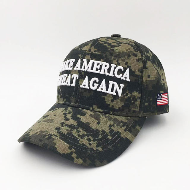 6 Panel Make America Great Again Baseball Cap And Military Hat