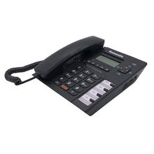Cheap caller ID desktop phone HF speaker hotel landline telephone corded set CE standard home phone corded telephones
