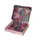 Yilucai Custom Logo Holographic Hot Foil Stamping Luxury Silk Scarf Packaging Gift Box