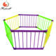 Outdoor play yard top sale baby safety furniture portable folding morden wooden playpen