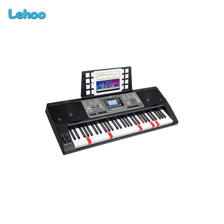 MEIKE MK-816 61 keys electronic midi piano keyboard with lighting keys