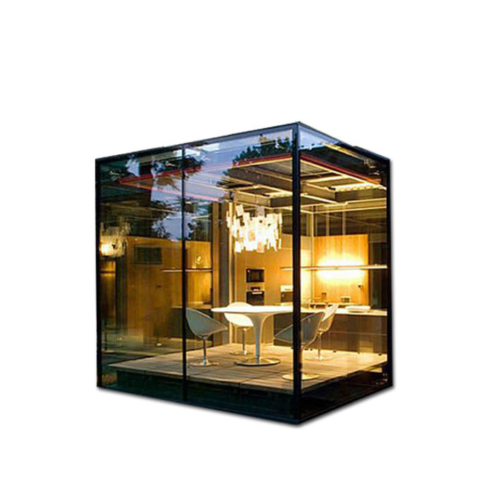 Modern design glass sunroom for balcony and garden