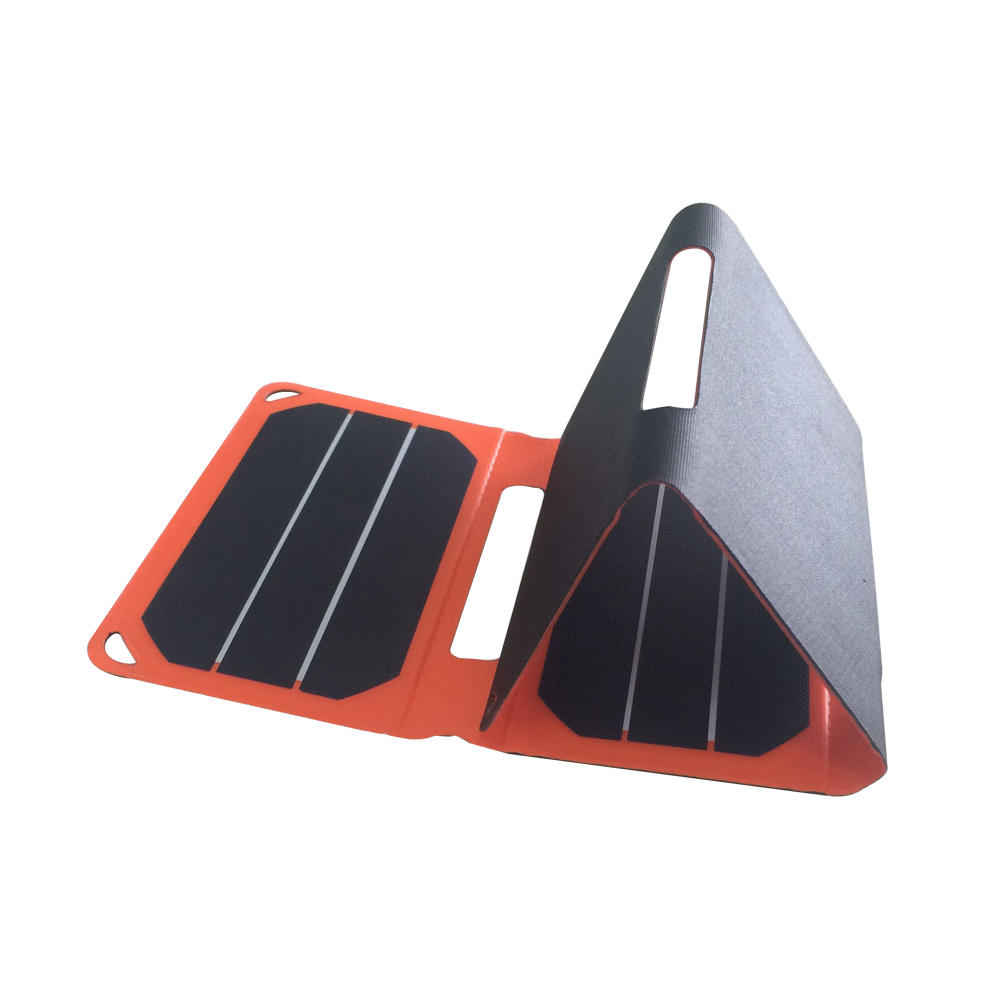 Foldable Usb 5v 6.4w Folding Mini Usb Solar Panel Charger