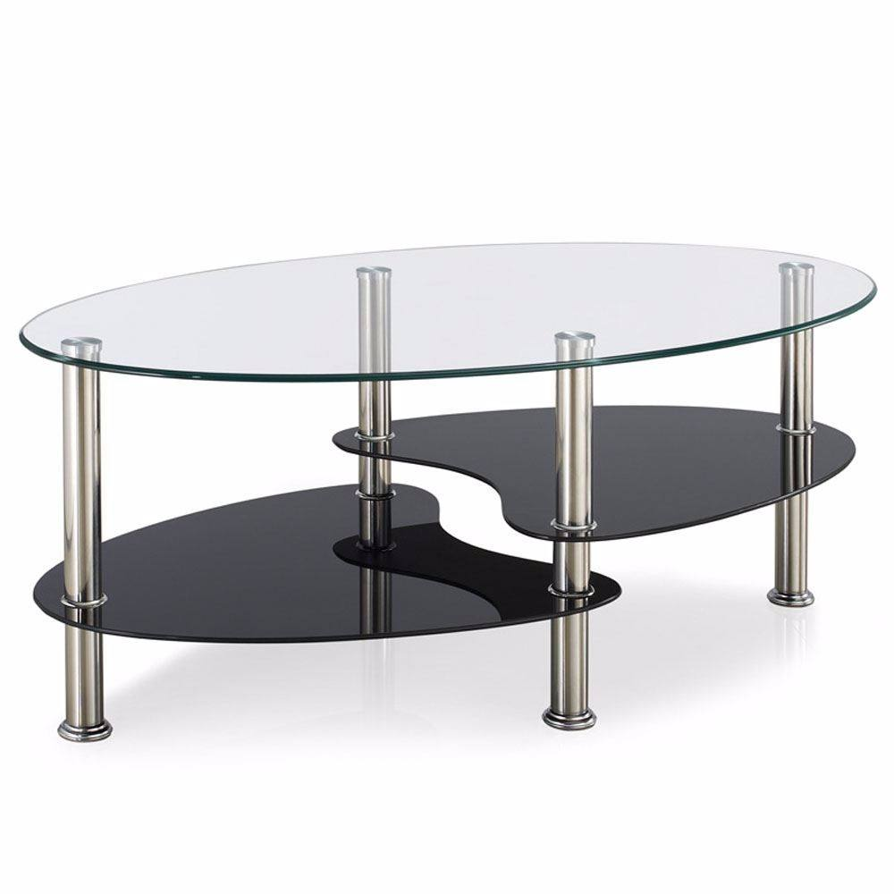 Popular Living Room Tempered Glass Small Coffee Tea Centre Table