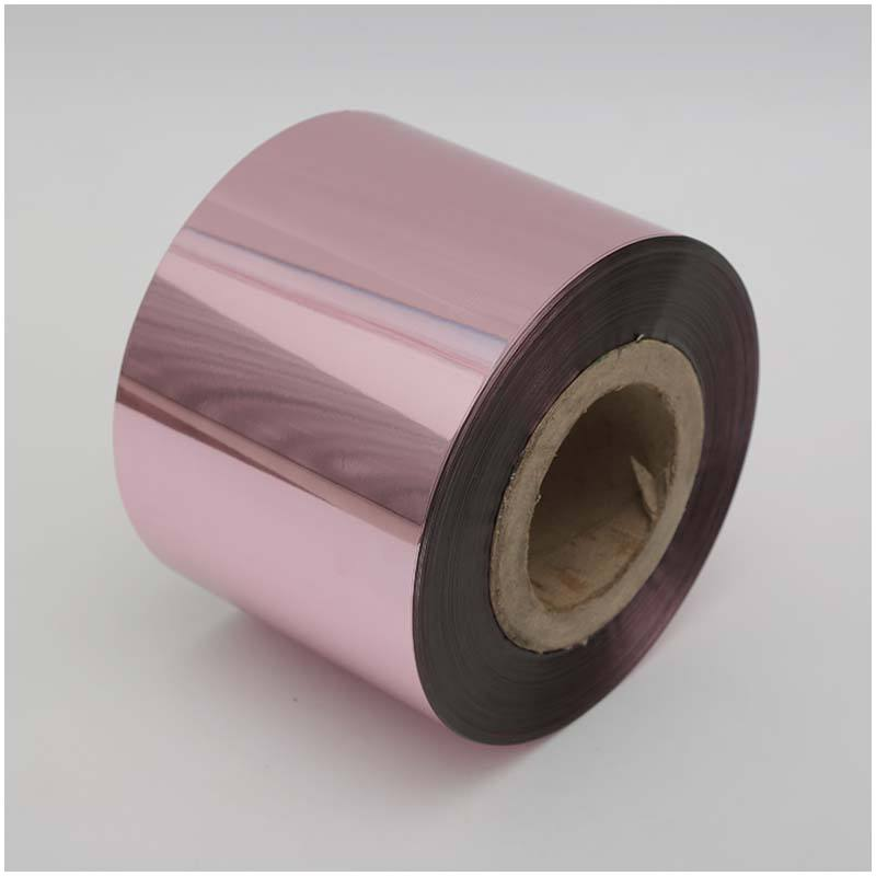 glitter pet film sequins polyester colored metalized polyester film