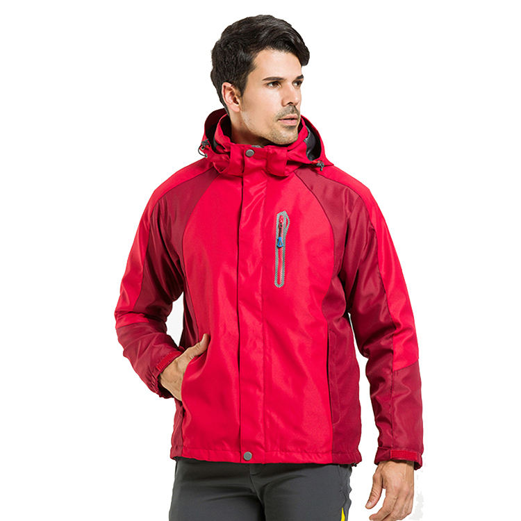 Mens Vrouwen Outdoor Waterdicht Softshell Down Fall Jacket