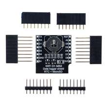 Micro SD D1 Mini Data Logger Shield + RTC DS1307 Clock For A rduino/Raspberry