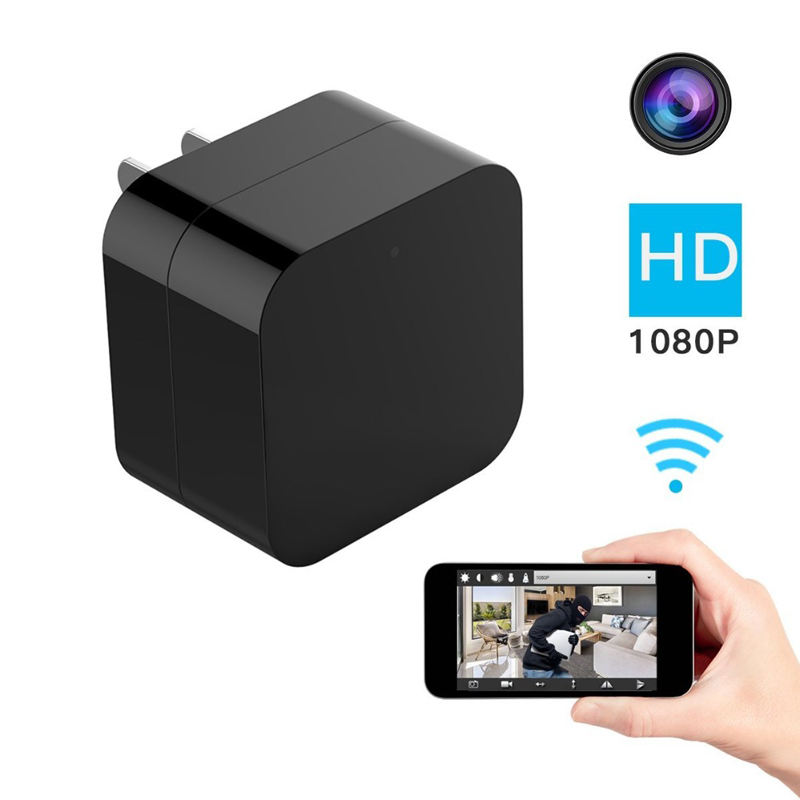 Amazon Top1 Mini Thuis Cctv Wireless Wifi Ip P2p 5mp Wifi Camera Spy Usb Charger Verborgen Camera 1080 P Met bewegingsdetectie