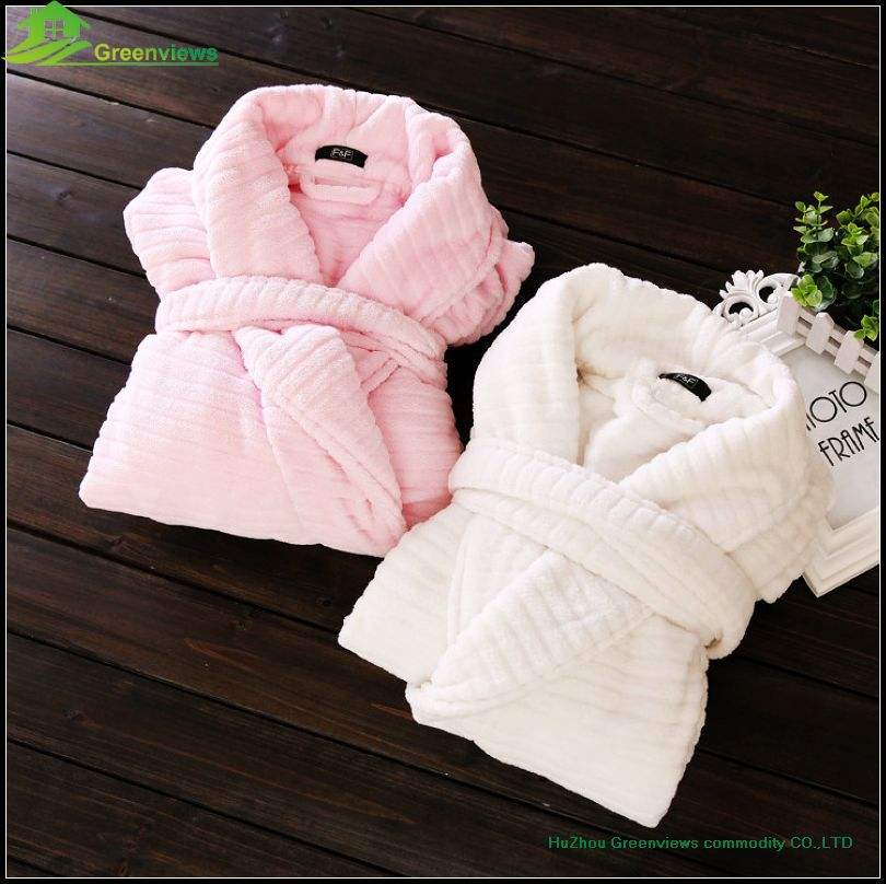 Women sexy robe Adult girls bathrobes polyester women towel robe bathrobe gown bath robe