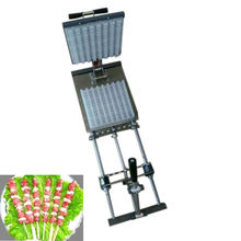 BBQ Manual meat skewer machine with factory price