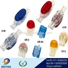UY/UY2/UR/UB/UG/U1B/UDW2 wire quick/fast connectors for phone line/LED Line/cable
