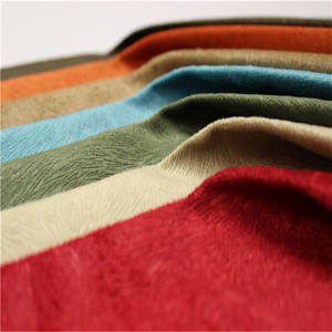 flock fabric upholstery fabric burnout fabric manufacturer