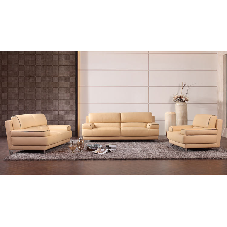 Competitive price sofas furniture india sofa set 321 leather genuine
