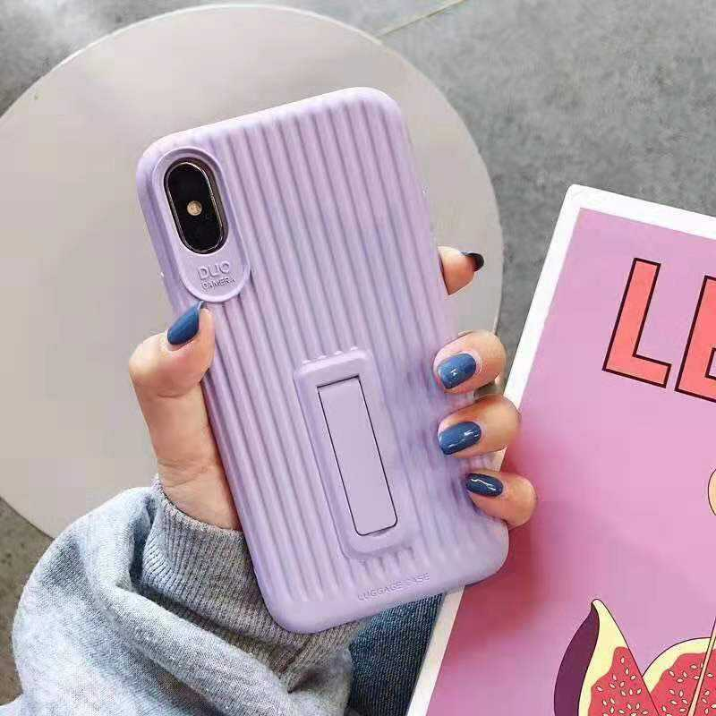 Candy Color Boot TPU Case For Huawei P30 With Stand Function