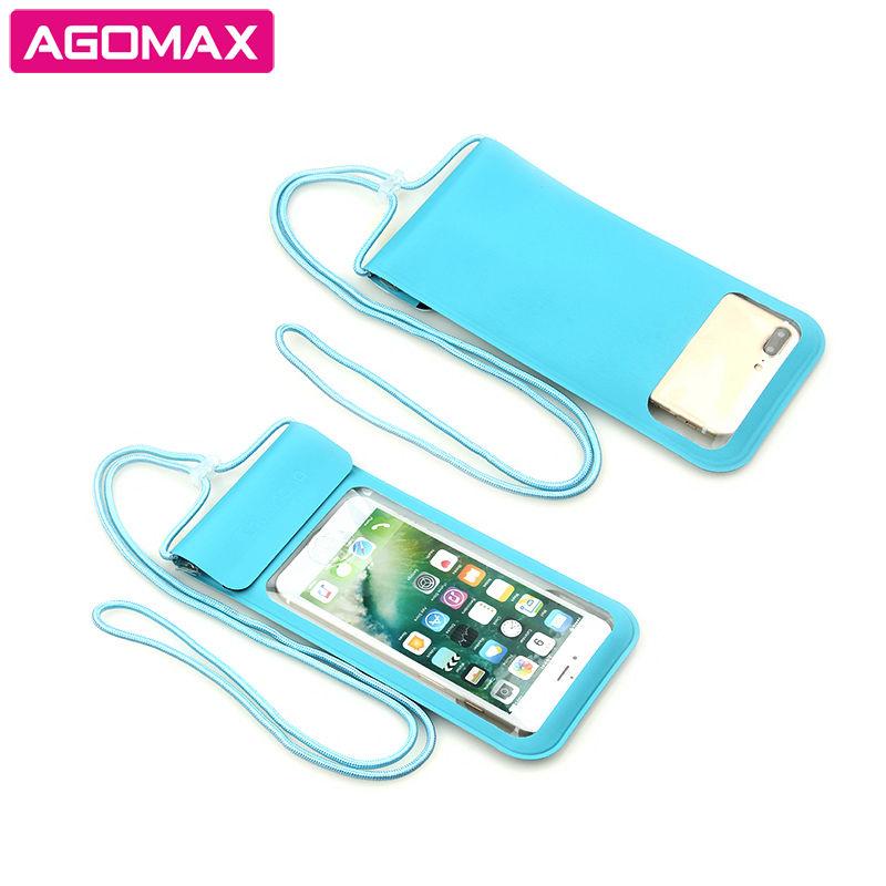 참신 gift Custom PU mobile pouch <span class=keywords><strong>지문</strong></span> unlocked 방수 셀 폰 bag