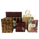 Customized Gift Shopping Bag Customized Fashion Print LOGO Size Handles Gift Shopping Kraft White Paper Bag With Your Own Logo