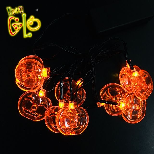 Party Favor Halloween Kürbis Light Up String Licht für die Dekoration