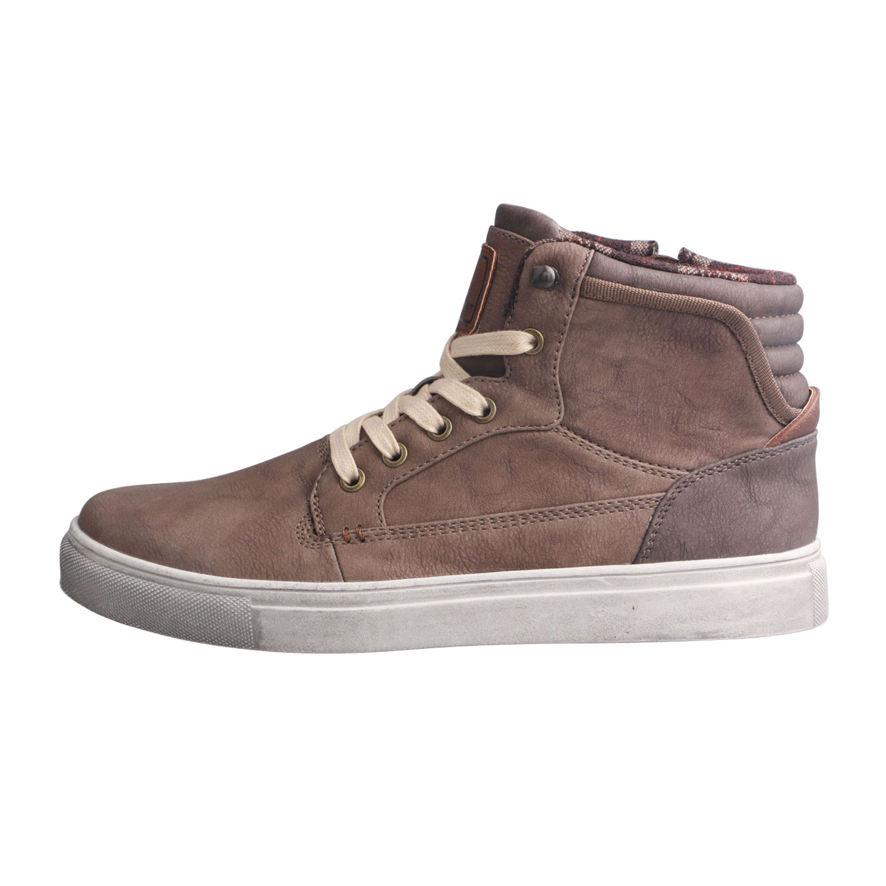 최고의 판매 제품 남자 캐주얼 신발 운동화 높은 목 신발
