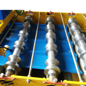 Metal Roofing Sheet Corrugating Iron Sheet Roll Forming Making Machine Cold Galvanizing Line