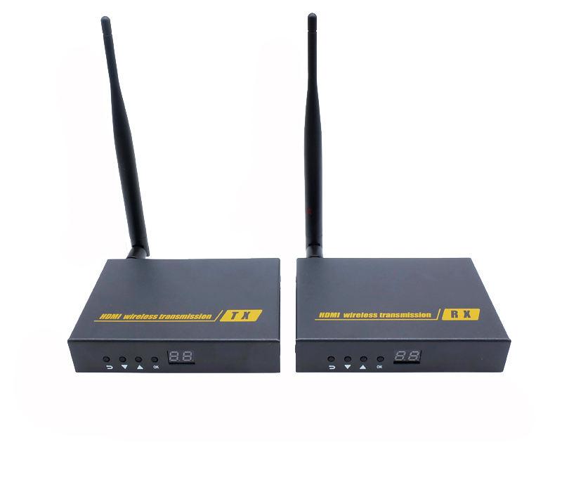 AV Máy Phát Không Dây HD1080P Không Dây SDI BNC Receivers Tên Người Gửi Audio Video 300m Cho UVA CCTV máy ảnh aerial photography
