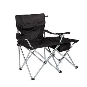 hot outdoor easy-carry portable used director metal folding camping steel tube chair with cup holder