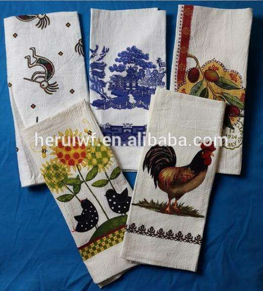 Gift [ Tea Towels ] Flour Sack Towels Quality Top Sell Home Textile Flour Sack Tea Towels Imported From China