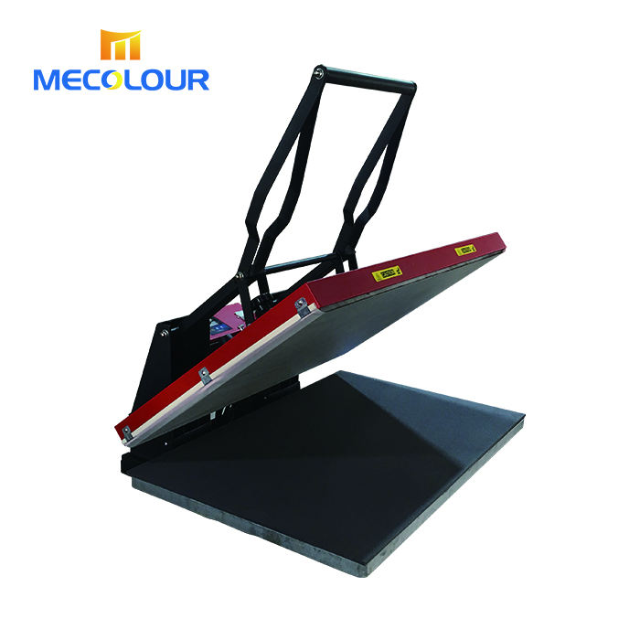 Mecolour large format heat press machine 60*80cm for clothing