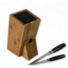 Blocks & Roll Bags Bamboo material bamboo knife block universal knife holder