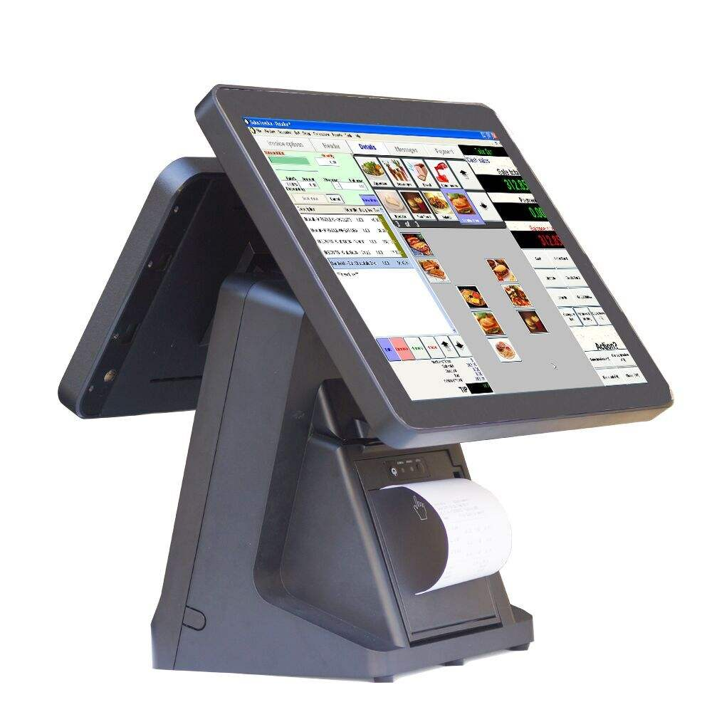 Top kwaliteit Android pos terminal Goedkope pos terminal/pos-systeem Restaurant/epos 15 inch