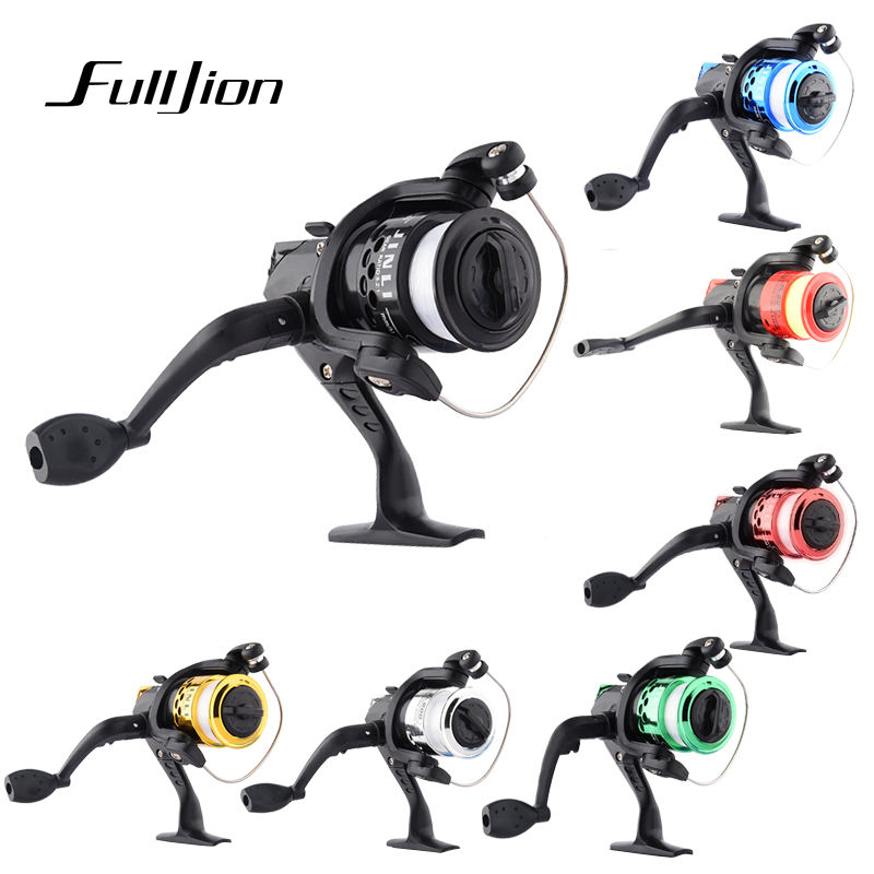 Fulljion Fly Saltwater Spinner Fishing Reel Lines Combo