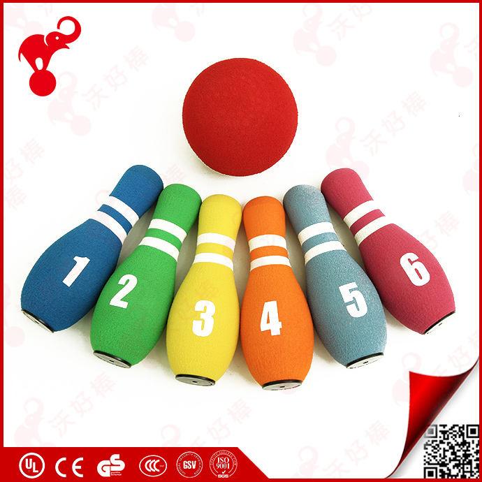 cheap bambini sport indoor giocattolo schiuma nbr morbido colorate di grandi dimensioni di <span class=keywords><strong>plastica</strong></span> <span class=keywords><strong>bowling</strong></span> pins for kids