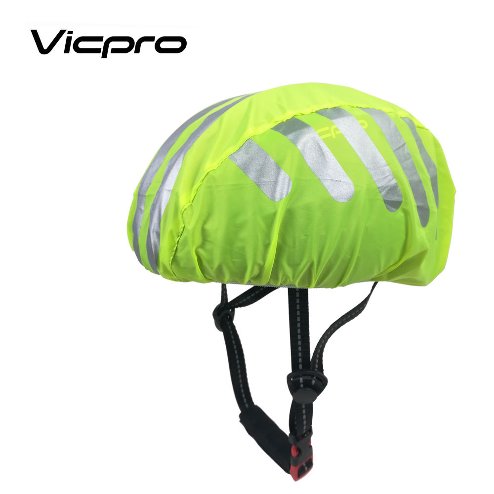 Reflective Bicycle Helmet Cover Universal Size Windproof Dustproof Breathable Road Bike Helmets Water Snow Cover Ride Gear