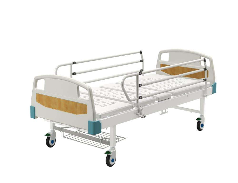 ABS head and Foot Manual Medical Bed